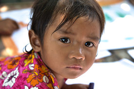 Cambodge portrait