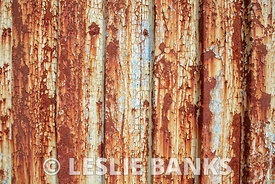 Rusted chipped metal paint background