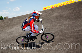 Toronto 2015 Pan Am Games, BMX Time Trial, Centennial Park Pan Am BMX Centre, Etobicoke; July 10, 2015