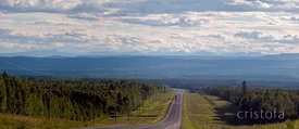 the Alaska Highway in British Columbia