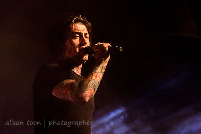Ronnie Radke, vocals, Falling In Reverse