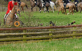 Nicky Hanbury - The Quorn Hunt at  Markham House