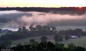 Natchez Trace, Water Valley overlook