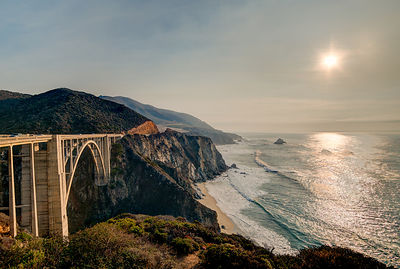 Bixby Bridge Water View