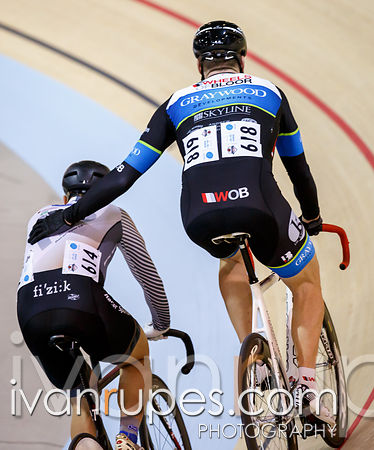 2014 Canadian Track Championships, Milton, On, January 4, 2015