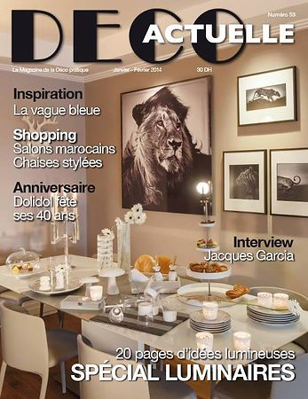 Deco Actuelle Magazine (Morocco) - Jan 2014 photos