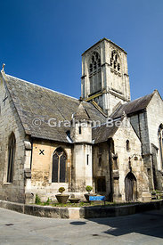 St Mary de Crypt Church, Southgate Street, Gloucester, Gloucestershire, England.