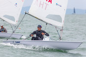 Laser 207885. Top of the Gulf Regatta 2018.