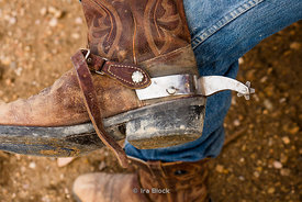 Cowboy boots at Bryce Canyon Country Rodeo in Utah.