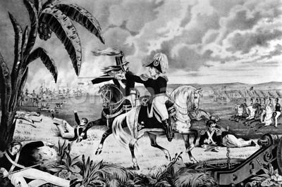 Zachary Taylor at Battle of Resaca de la Palma