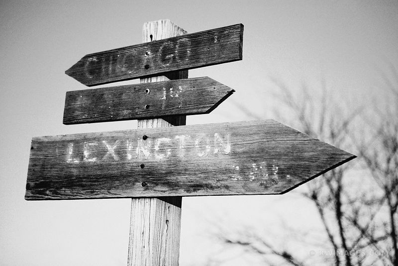 ROUTE 66 SIGN BLACK AND WHITE