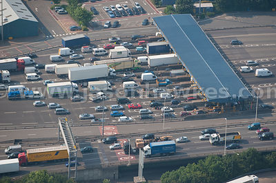 Toll Entrance to Dartford Tunnel