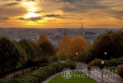 Paris Skyline - Parc de Belleville
