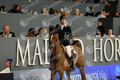 FUCHS Martin, (SUI), Coriano Carthago during CSI5-W_1,60_Longines World Cup Grand Prix competition at Madrid Horse Week at IFEMA, Madrid - Spain