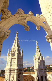 The Jeronimos monastery, a UNESCO World Heritage Site. Lisbon