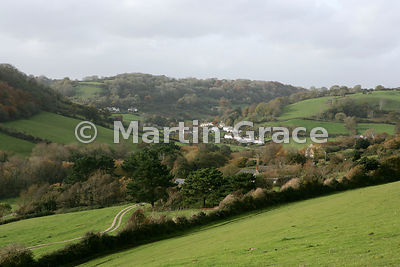 Branscombe, a picturesque small village in south Devon, England