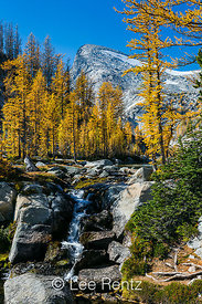 Snow Creek, Little Annapurna, and Alpine Larches in The Enchantments