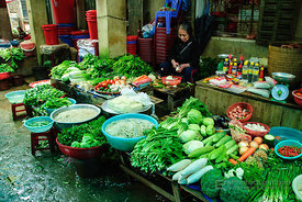 Vegetables for Sale at Sapa Market