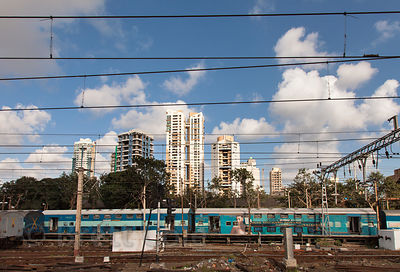 Skyscrapers near Dadar, Mumbai, India.