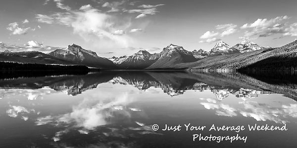 B&W Lake McDonald