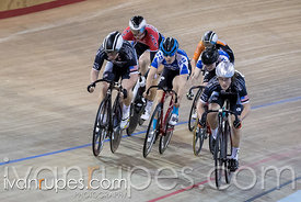 Junior Men Keirin Final. 2016/2017 Track O-Cup #3/Eastern Track Challenge, Mattamy National Cycling Centre, Milton, On, February 11, 2017