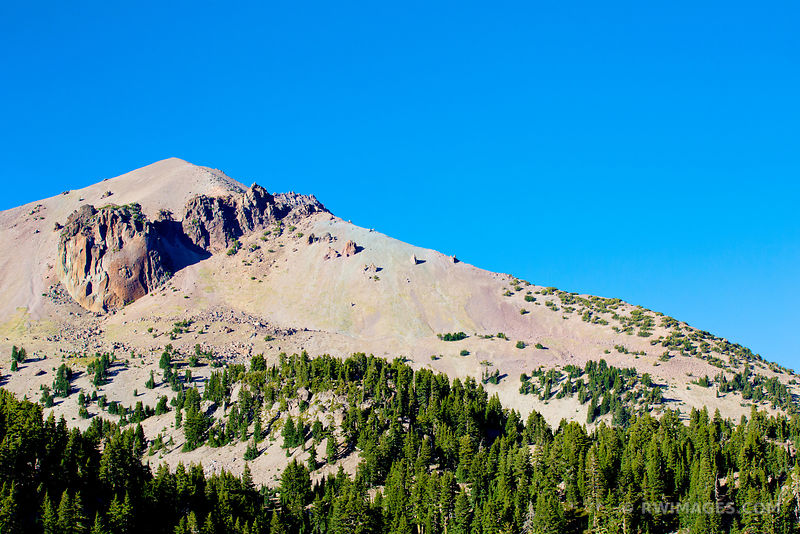 LASSEN PEAK LASSEN VOLCANIC NATIONAL PARK CALIFORNIA
