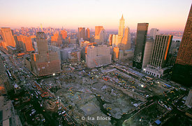 Views of Ground Zero, Tribeca, New York