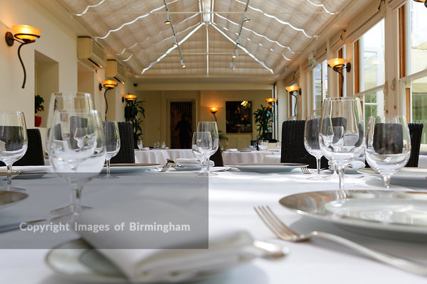 Simpsons restaurant and guest rooms, Edgbaston, Birmingham, West Midlands, England, UK