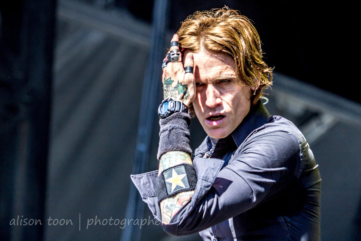 Josh Todd of Buckcherry, Aftershock 2014
