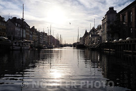 Sunrise in Nyhavn