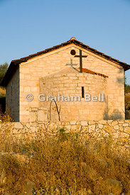 Small church, Spartochori, Meganisi Island, Lefkas, Ionian Islands, Greece.