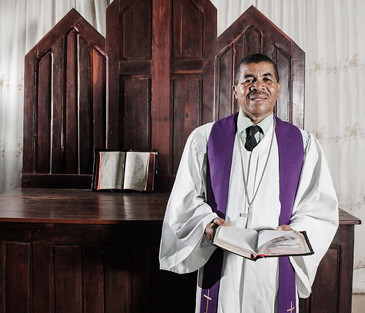 "BETIOKY - Mr Mahatoky, married, 57, is a pastor of the Lutheran Protestant Church since 1985. He is also President of the South Betioky Regional Synod. He notes with pride that most of his parishioners are young. 80% of his parishioners are between 20 and 30 years old. He prefers to see young people coming to worship rather than staying in front of the internet and social networks. For him ""God's communication system is more powerful than the new technologies of today""."