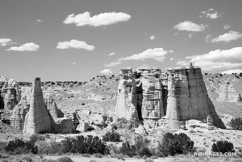 NORTHERN NEW MEXICO LANDSCAPE BLACK AND WHITE