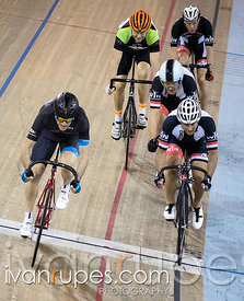 Master C/D Men Keirin Round 1 Ontario Track Provincial Championships, March 6, 2016