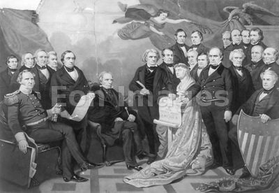 Matteson painting commemorating Compromise of 1850