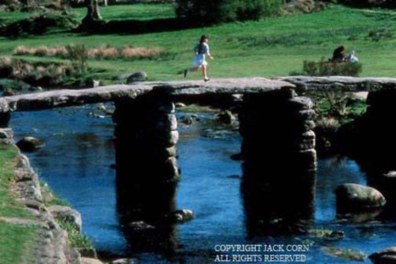 England, Dartmoor, Clapper Bridge