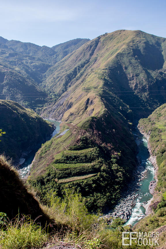 Dramatic Landscape Of The Cordillera, Northern Luzon, Pilippines