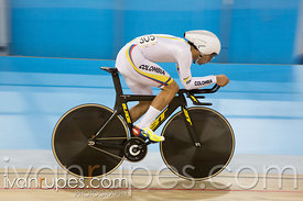 Men's Omnium Individual Pursuit, Track Day 1, Toronto 2015 Pan Am Games, Milton Pan Am/Parapan Am Velodrome, Milton, On; July 16, 2015