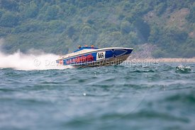 Warpath, B69, Fortitudo Poole Bay 100 Offshore Powerboat Race, June 2018, 20180610055