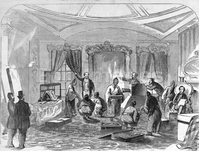 Artists record Japanese presents during 1860 state visit to Washington, D.C.
