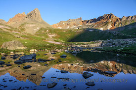 Ice Lakes Sunrise - San Juan National Forest