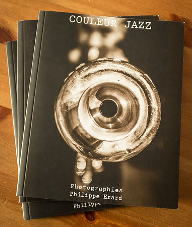 """Couleur Jazz"" 10 ans de photographies + CD photos"