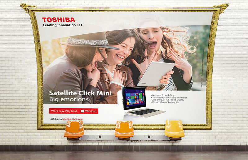 Toshiba agence photos