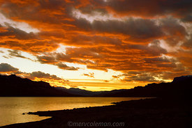 429  Buffalo Bill Lake Sunset