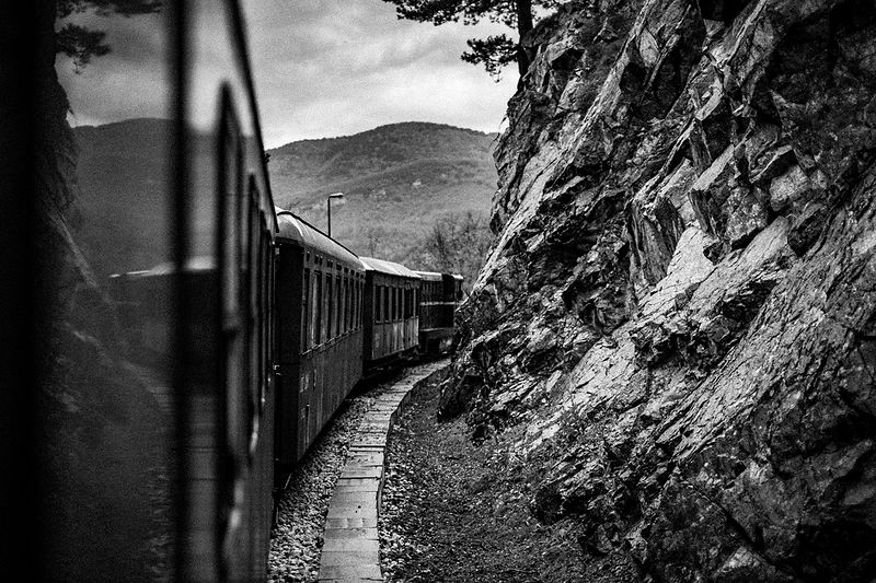 Mokra Gora, Bosnie (2016) - Le train dans la colline.