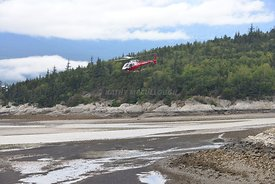 Temsco helicopter Taking off Skagway 2