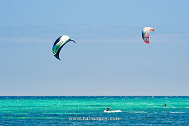 kitesurfing activities