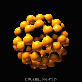 Buckminsterfullerene or Buckyball C60 # 27