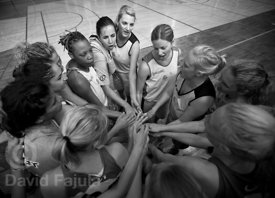 Speech before the All Star match in the FIBA International Camp For Girls (2012) runned in Postojna