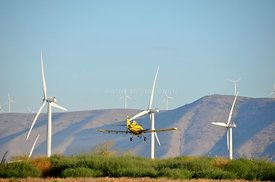 Windtowers and crop dusting